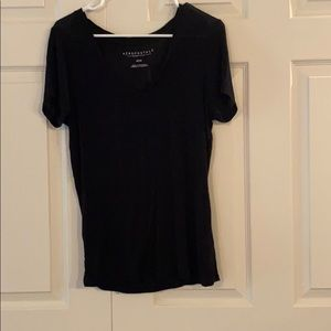 Black Aeropostale v-neck top
